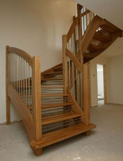 Oak Euro Staircase