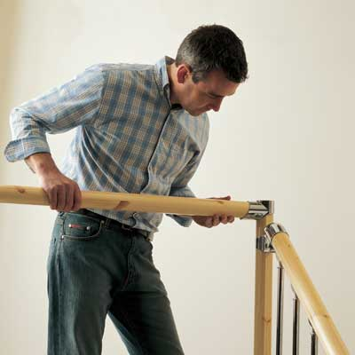 Your landing handrail