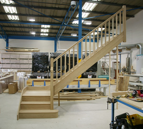 Oak Stairs from Stairplan Staircase Manufacturers