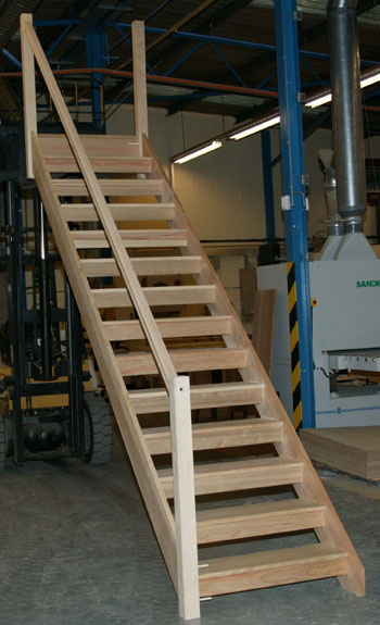 Openplan Staircase Wooden Staircases Made To Measure Uk