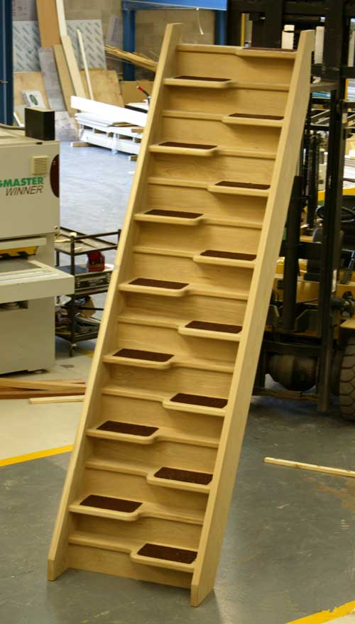 Oak 40 Spacesaver staircase