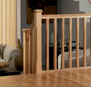 American White Oak stairparts