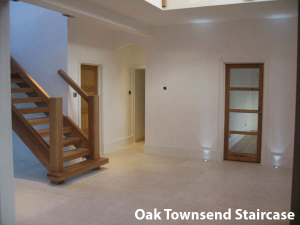 The Oak townsend staricase -Bespoke - Contemporary
