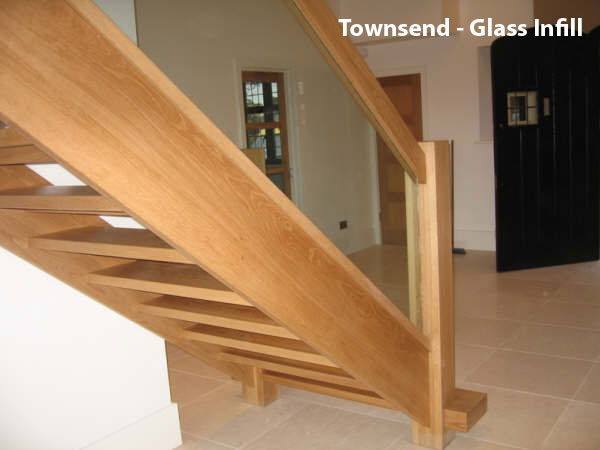 Glass infill for Balustrade