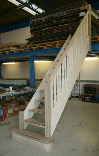 The Priya Staircase with Glass Risers