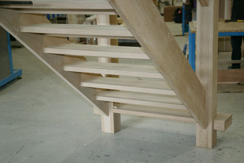 From Under The Staircase You Can See The True Tread Thickness Of 40mm,  These Are Still Thick Treads When You Consider Most Standard Stair Treads  Are Only ...