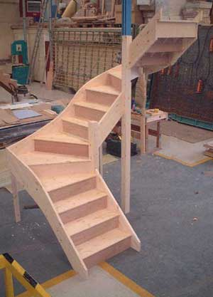 Staircase Specialists Winder Staircases Made To Measure Uk